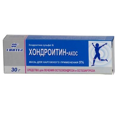 «хондроитин» (гель): инструкция по применению