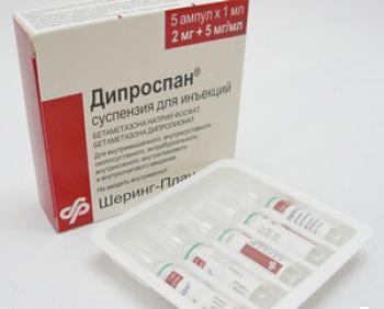 Почему при заболеваниях щитовидной железы назначают таблетки дипроспана?