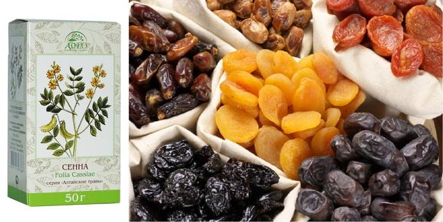 «сенна д» — натуральное слабительное средство при запоре и для похудения