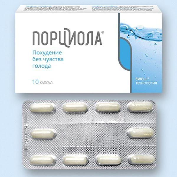 Порциола для похудения - инструкция по применению