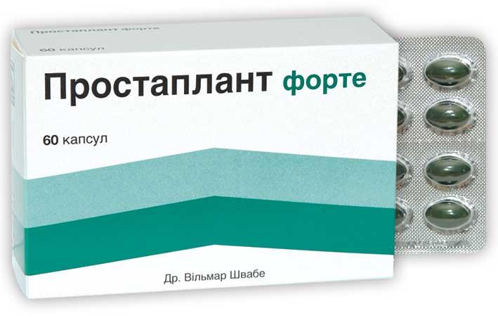 Простаплант: инструкция по применению лекарства