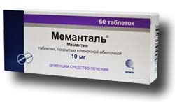 Препарат: меманталь в аптеках москвы