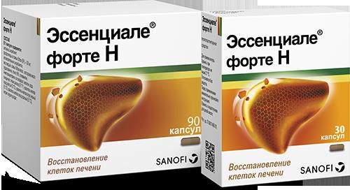 Особенности применения гепатопротектора эссенциале