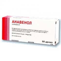Препарат анавенол — инструкция по применению, аналоги и отзывы