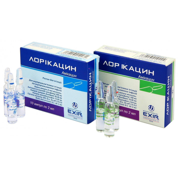 Амикацин — инструкция и особенности применения препарата