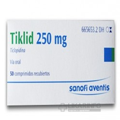 Препарат: тиклид в аптеках мытищ
