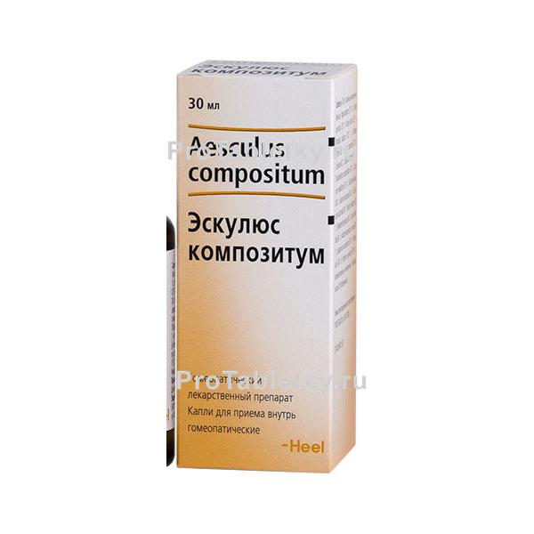 Отзывы о препарате эскулюс композитум