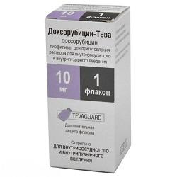 Доксорубицин - инструкция по применению, отзывы, противопоказания