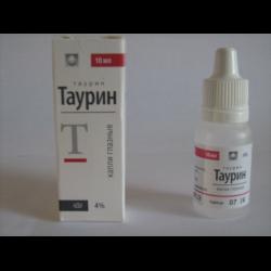 Таурин-диа – инструкция по применению капель глазных, цена, отзывы