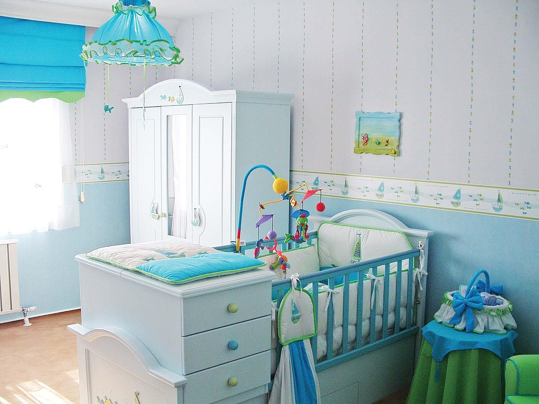 Отдельная комната для новорожденного...