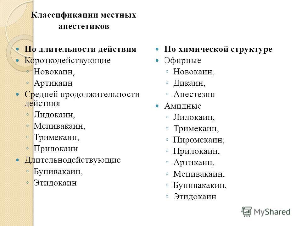Общие анестетики — sportwiki энциклопедия