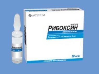 Инструкция по применению препарата рибоксин