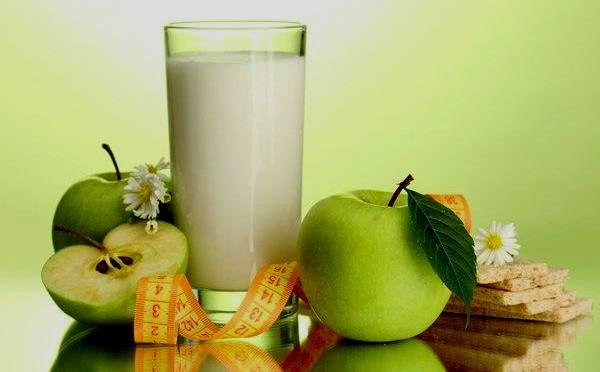 Яблочная и кефирно-яблочная диеты на 3-7 дней, худей как на дрожжах