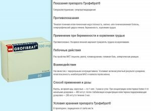 Для чего нужно лекарство трайкор и его инструкция по применению