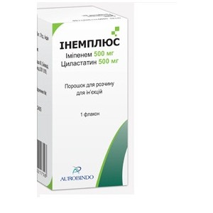 Инструкция по применению препарата имипенем циластатин, показания и противопоказания
