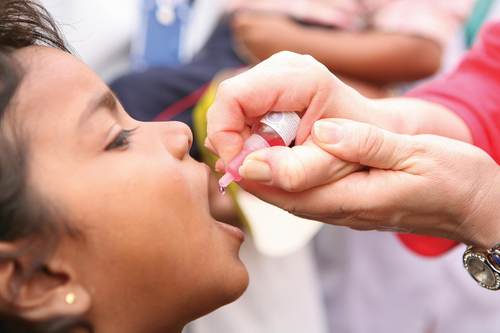 Реакция на прививку от полиомиелита у ребенка