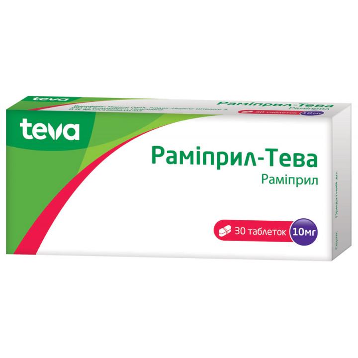 Препарат: рамиприл в аптеках москвы