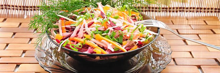 Салат «щетка» для очищения кишечника и похудения без диеты