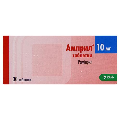 Инструкция по применению препарата амприлан — при каком давлении и как принимать?