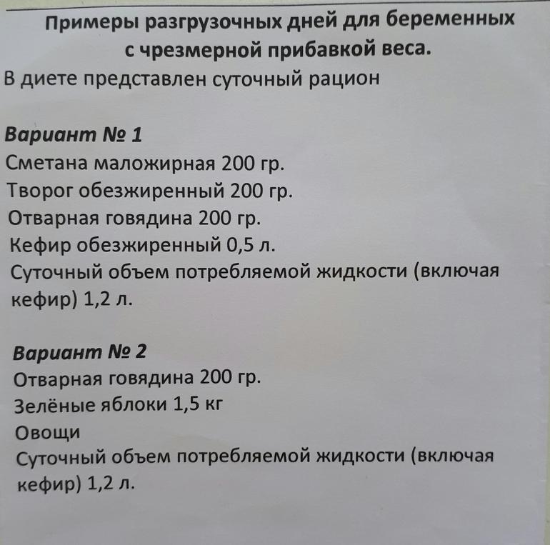 Разгрузочная Диета Для Беременных Для Снижения Веса. Диета для беременных: меню для снижения веса в зависимости от срока