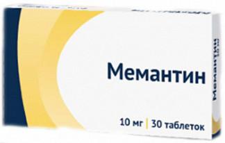 Мемантин: инструкция по применению, цена, отзывы, аналоги, где купить