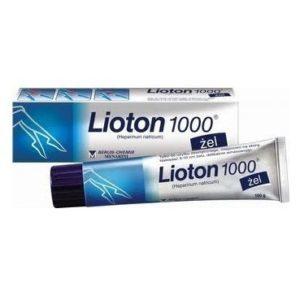 Эффективность применения лиотон геля для лечения варикозной болезни
