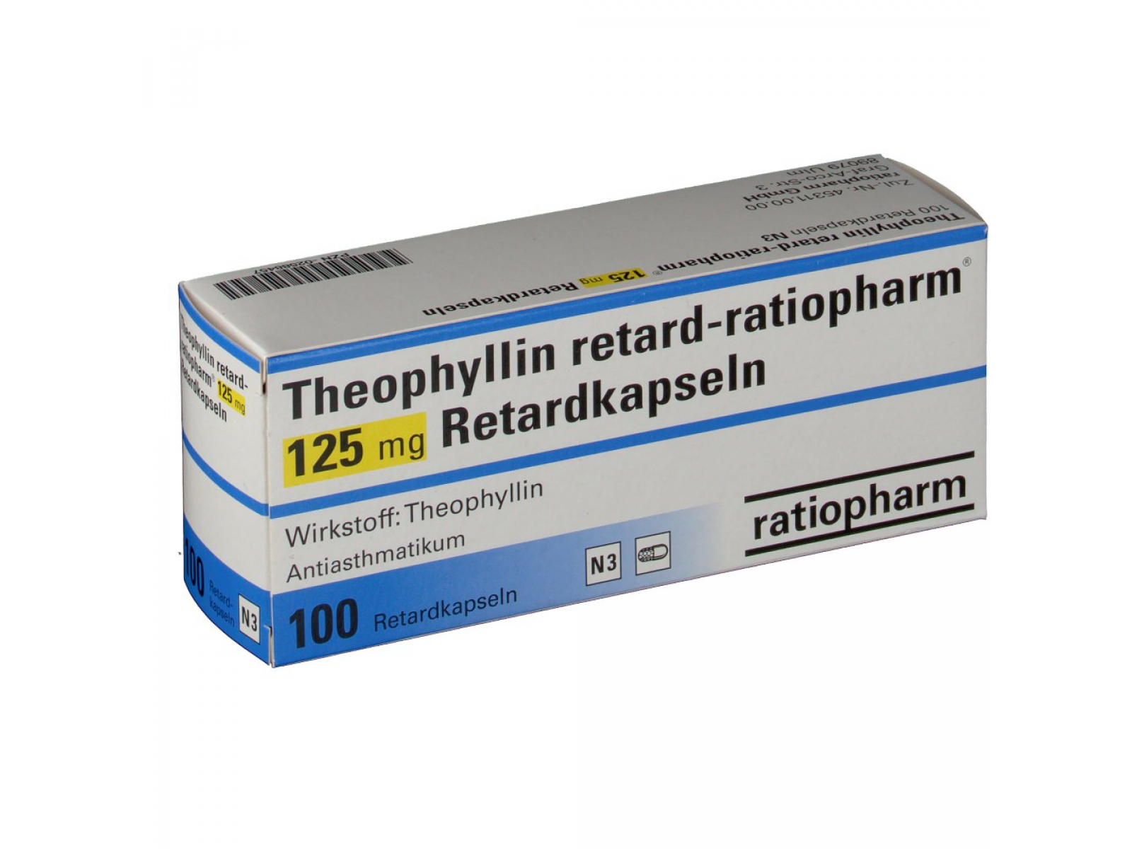 Теофиллин: инструкция по применению