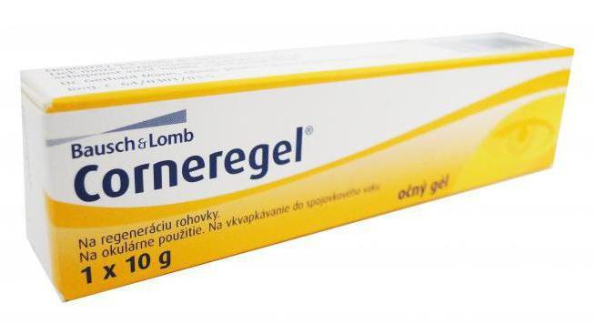 Корнерегель (гель глазной): инструкция по применению, цена, отзывы, аналоги, где купить