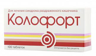 Таблетки колофорт — правильное применение и побочные еффекты