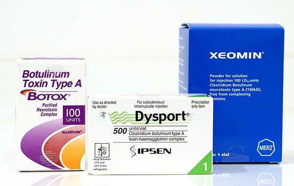 Диспорт, ботокс или ксеомин