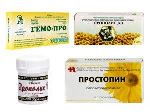 Недорогие и эффективные свечи от простатита