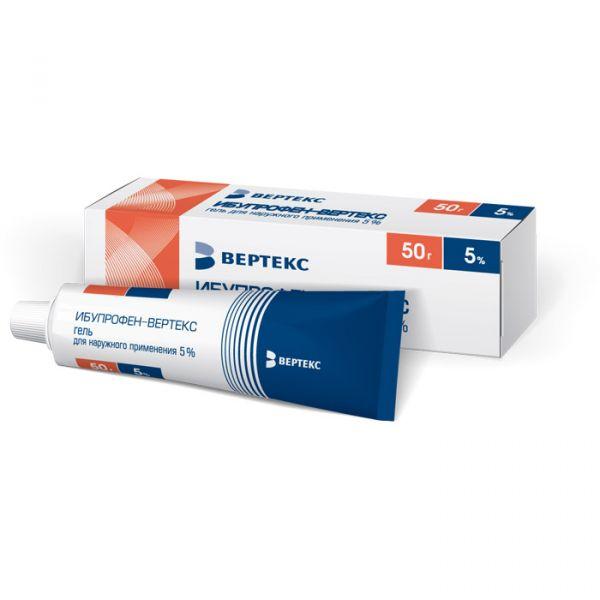 Нурофен экспресс (гель для наружного применения, 50/100 г)