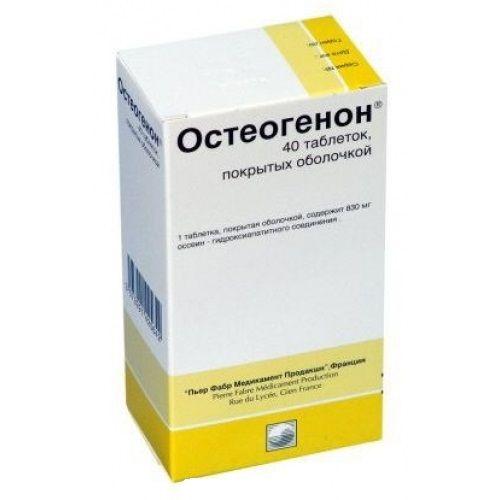 Таблетки остеогенон - состав, показания, побочные действия, аналоги и цена