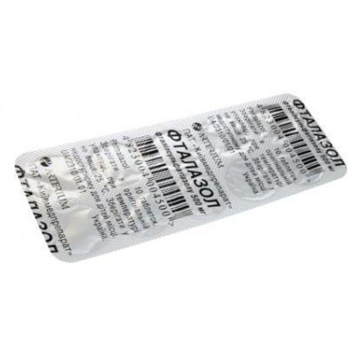 Препарат фталазол - состав, показания при лечении кишечных инфекций, дозировка для детей и взрослых, цена