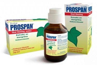 Проспан форте таблетки шипучие от кашля: состав, показания, дозировка, побочные эффекты