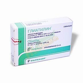 Инструкция по применению препарата глиатилин