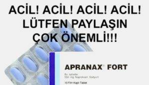 Препарат Апранакс Форте инструкция по применению