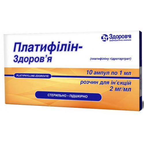 Платифиллин: инструкция по применению, аналоги и отзывы, цены в аптеках россии