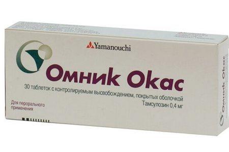Омник окас − инструкция по применению таблеток, цена, отзывы, аналоги