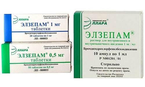 Инструкция по применению нозепама и отзывы о препарате