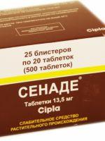 От чего помогает сенаде: инструкция по применению таблеток