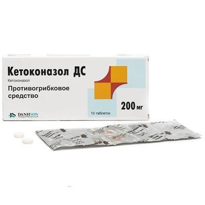 В каких случаях помогает кетоконазол от грибка?