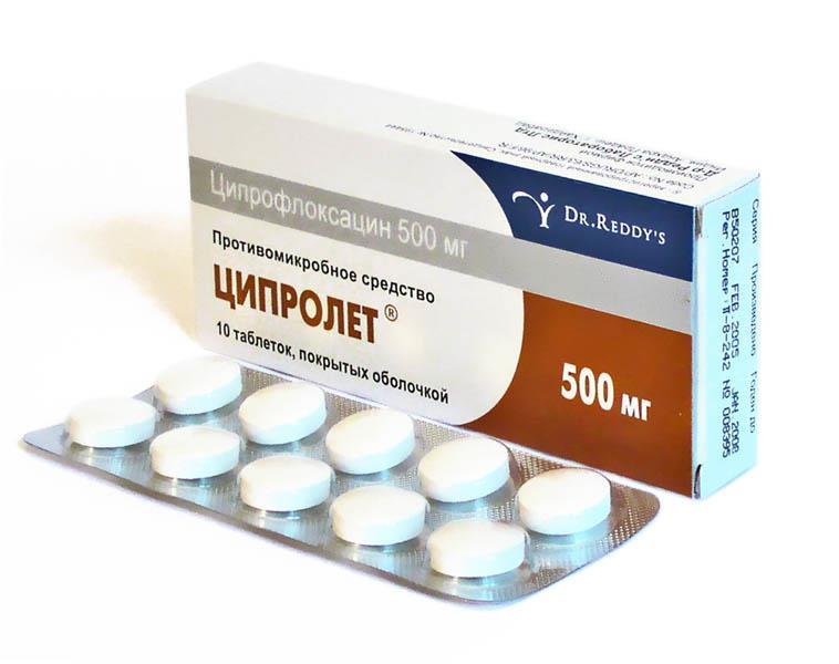 Ципролет таблетки и капли: инструкция, отзывы, аналоги
