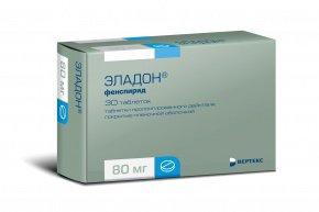 Таблетки эладон инструкция по применению, фенспирида гидрохлорид 80 мг