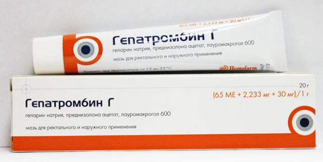 Как применять свечи гепатромбин г при геморрое