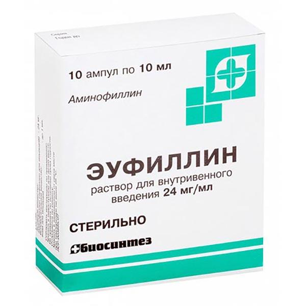 Эуфиллин таблетки