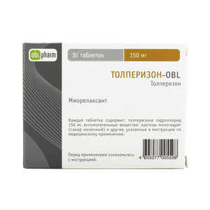 Аналог таблеток толперизон-obl