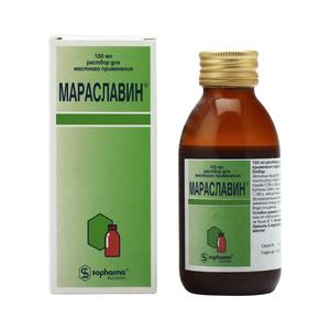 Мараславин: инструкция по применению, аналоги, цена, отзывы