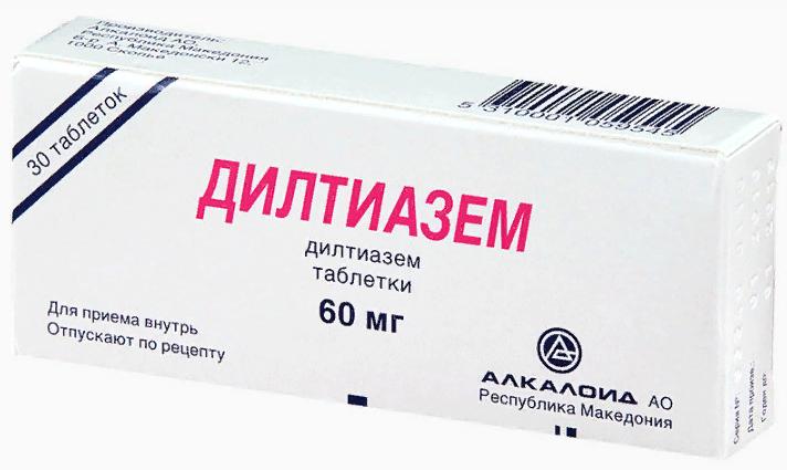 Дилтиазем 60 (90) мг: инструкция по применению, цена и аналоги, отзывы о препарате