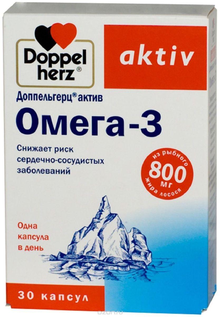 Доппельгерц актив омега 3-6-9